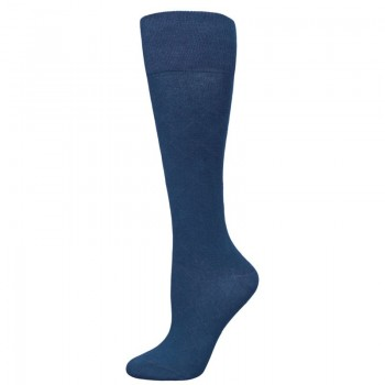 Kniekousen dames riverside blauw