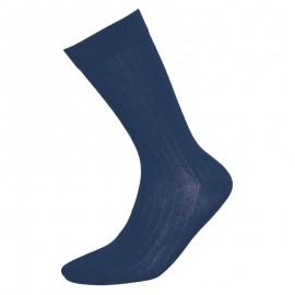 Heren sokken riverside blauw