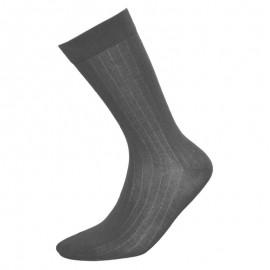 Heren sokken sharkskin grijs