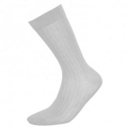 Heren sokken klassiek licht grijs