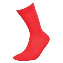 Heren sokken klassiek rood